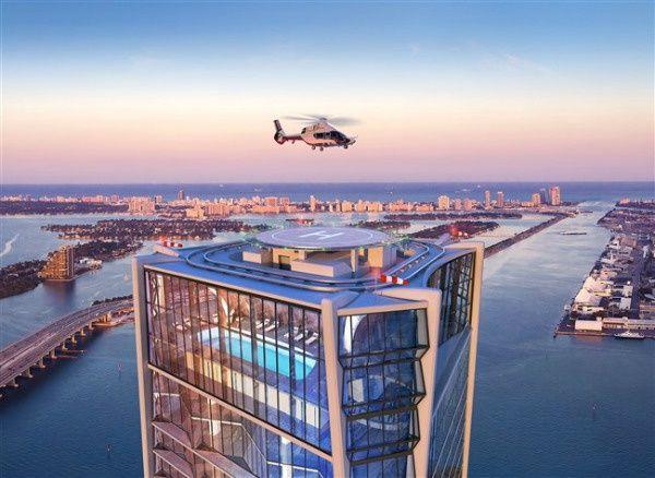 1000 Museum Condos à vendre à Miami
