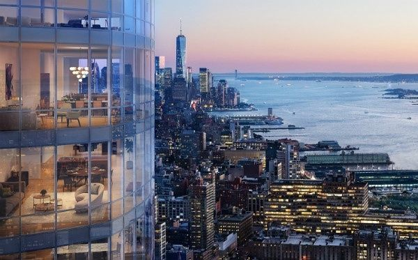 15 Hudson Yards appartements à vendre à New York