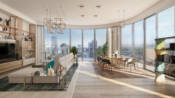 Flatiron Penthouse Miami condos à vendre Brickell