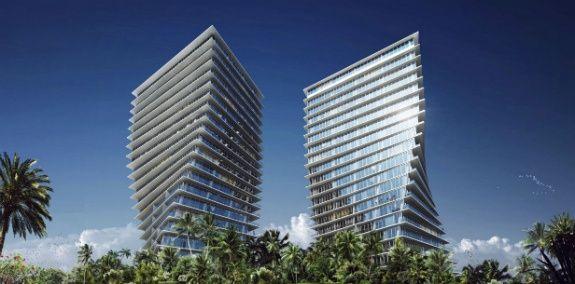 Bâtiments de luxe à Miami