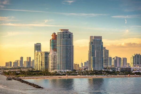 Miami Beach ou Downtown Miami l'immobilier