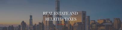 Impôts sur l'immobilier et taxes connexes.png