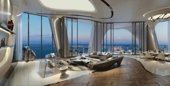 Zaha Hadid Immeubles de luxe à Miami